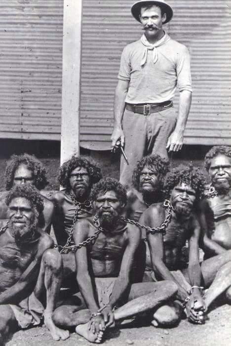 Black Slaves in Chain