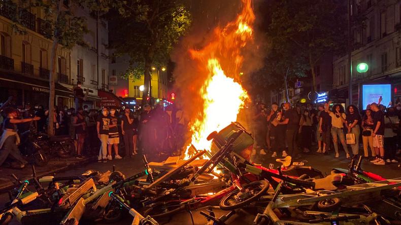 Protest for Adama Traore, Paris, June 2, 2020