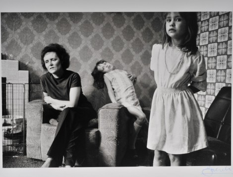 A British family from the film Smashing Kids, 1975. Photograph: John Garrett