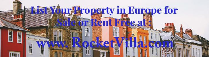 Rocket Villa Europe Ads