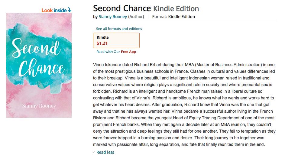 Amazon-SecondChanceNovel