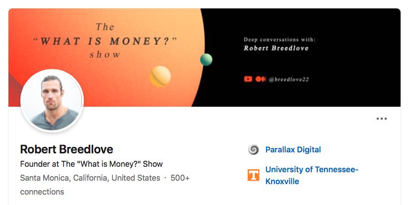 Robert Breedlove, Bitcoin Philosopher